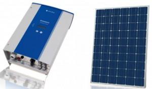Solar modul és inverter