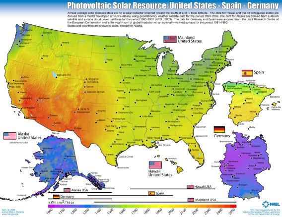 Solar térkép
