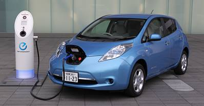 Nissan Leaf elektromos autó