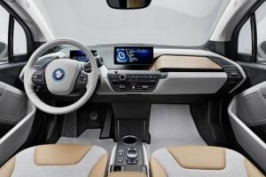 BMW i3 belső tér