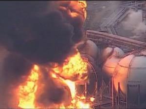 Lángoló atomreaktor
